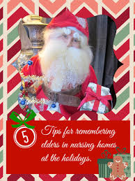 5 tips for spreading to nursing home residents at the holidays