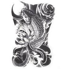 12pcs lot black skull shoulder tattoos temporary tatto