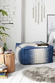 wool cube pouf urban outfitters use as an ottoman casa