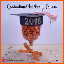 graduation favors to make graduation hat party favors creatively