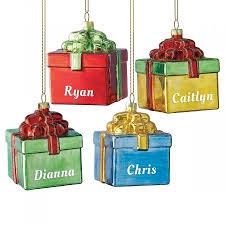 personalized ornaments gift box christmas personalized ornaments lillian vernon