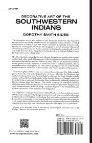 decorative art of the southwestern indians dover pictorial