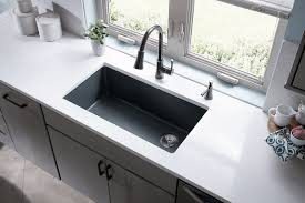 Single Basin Kitchen Sinks by Quartz Sinks Everything You Need To Know Qualitybath Com Discover