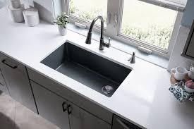 Single Tub Kitchen Sink Quartz Sinks Everything You Need To Qualitybath Discover