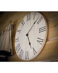 home decor clocks find the best deals on farmhouse wall clock rustic wall clock