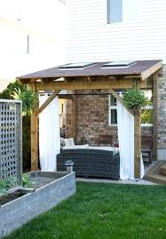 patio ideas build your own wooden patio cover building an