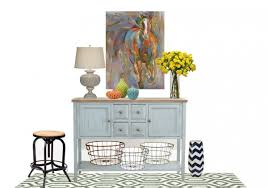 Decorating A Credenza Remodelaholic How To Decorate A Buffet