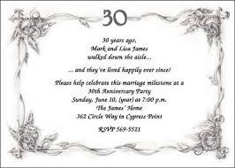 30 wedding anniversary 30th wedding anniversary party invite 7135 ibu an