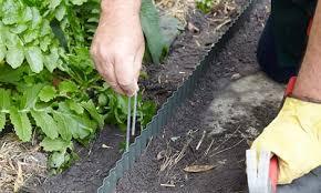 how to install garden edging bunnings warehouse
