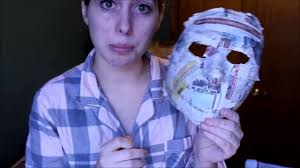 halloween paper mache masks 6 making a fitted paper mache mask for halloween youtube