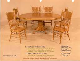 oak dining room table and chairs 6 best dining room furniture