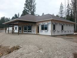 The Bow Manor Efficient And Affordable Spokane House Plans And - Slab home designs