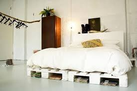 Pallet Bed Frame Plans Awesome Recycled Pallet Bed Frame Ideas Recycled Pallet Ideas