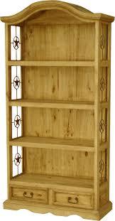 Pine Wood Bookshelf Rustic Bookcases Rustic Bookshelf Wood Bookcase