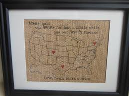 mother u0027s day gift for wife or mom burlap present for mom