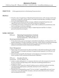 Customer Service Resume Objective Examples Marketing Resume Objectives Examples Resume Example And Free