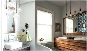 Bathroom Lighting Pendants Pendant Bathroom Lights Collection In Over Sink Bathroom Lighting