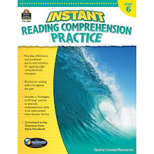 instant reading comprehension practice grade 6 tcr3835 teacher