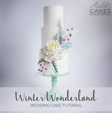 wedding cake tutorial winter cake avalon cakes