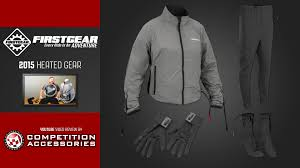 heated motorcycle jacket firstgear 2015 heated liners u0026 gear review youtube