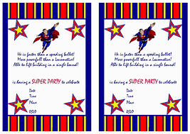 invitation card superman ideas superman birthday invitation with
