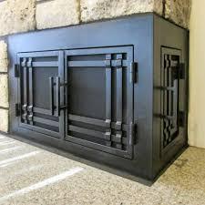 cool l ideas fireplace custom made fireplace tools l shape doors door guy cool
