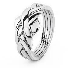 rings ladies silver images Puzzle rings 4asl jpg
