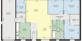 plan maison contemporaine plain pied 4 chambres plan de maison plain pied moderne gratuit page 0 klasztor co