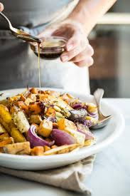 Recipe For Roasted Root Vegetables - easy rosemary maple balsamic roasted vegetables