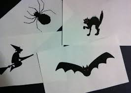 halloween ghost stencil have a low cost halloween scholastic