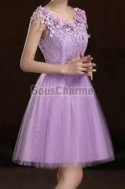 robe de mariã e courte pas cher robe de soirée pas cher courte pour mariage en dentelle recouverte