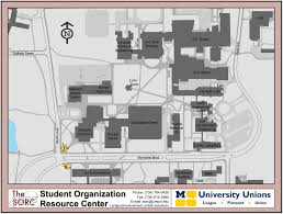 Map Of University Of Michigan by Diag Boards North Campus Map Sorc
