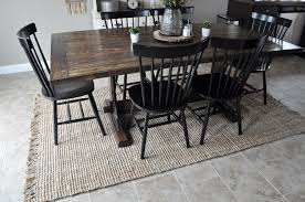 rug in dining room jute rug dining room alliancemv com