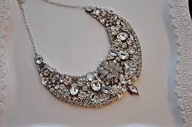 necklace etsy images Statement wedding jewelry bridal necklace etsy handmade 15 jpg
