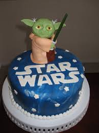 yoda cake topper wars cakes decoration ideas birthday cakes