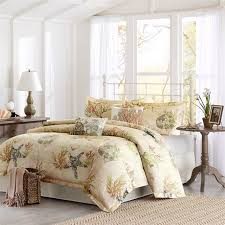Beachy Comforters Sets Coastal Living Bedding Tropical Bedroom San Francisco By