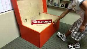 nike sneaker shoe storage box by the aloha boy youtube haammss