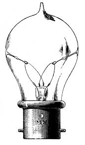 light bulb old style vintage clip art old fashioned light bulb the graphics fairy