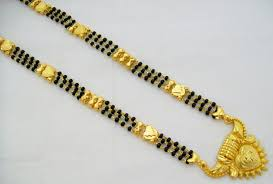 black gold chain necklace images Karugamani thali google search lovely thali pinterest gold jpg