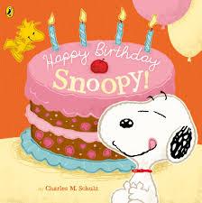 peanuts happy birthday snoopy