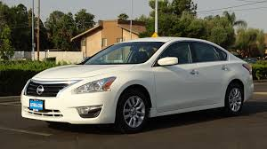 nissan altima 2015 acceleration used 2015 nissan altima 2 5 s white for sale in fresno ca stock