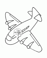 airplane flying down coloring page for kids transportation