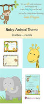 Invitations Cards For Baby Shower 16 Best Baby Shower Safari Images On Pinterest Boy Baby