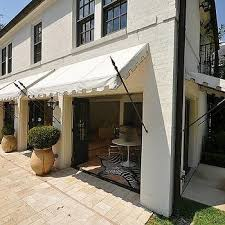 Awning Design Ideas White And Gray Awning Design Ideas