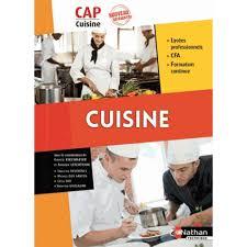 livre de cuisine cap cuisine cap cuisine livre lycée professionnel cultura