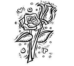 imagenes para colorear rosas paginas para colorear de corazones y rosas para con google para y