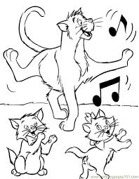 the aristocats coloring pages asoboo info