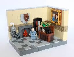 bruce wayne u0027s office moc lego lego projects and lego batman