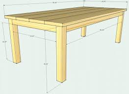 Patio Building Plans Dining Table White Outdoor Dining Table Furniture Easy Build