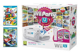 nintendo wii u black friday nintendo wii u 8gb party pack with mario kart 8 and super mario 3d